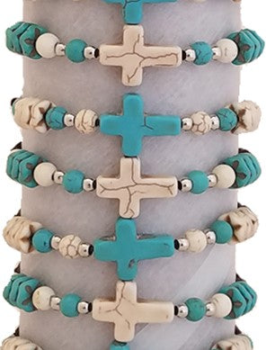 Cruz Corded Bracelet With Cross