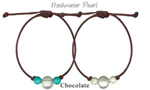 Cruz Pearl And Stone Bracelet