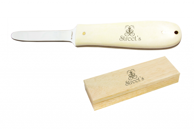 Sarge Knife White Bone Oyster Knife