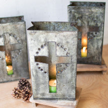 Kalalou Metal Cross Luminary