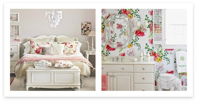 Floral Bed and Bath Accents