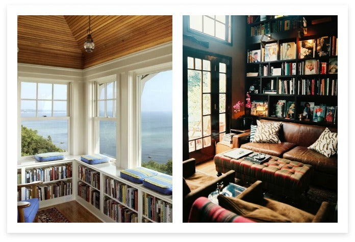Library Rooms with Class and Comfort