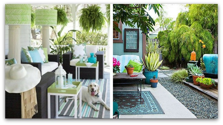 Summer 2015 tropical colors outdoor