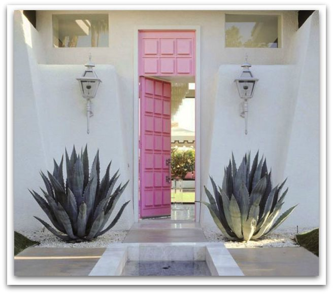 freshome-pink-front-door-curb-appeal-design