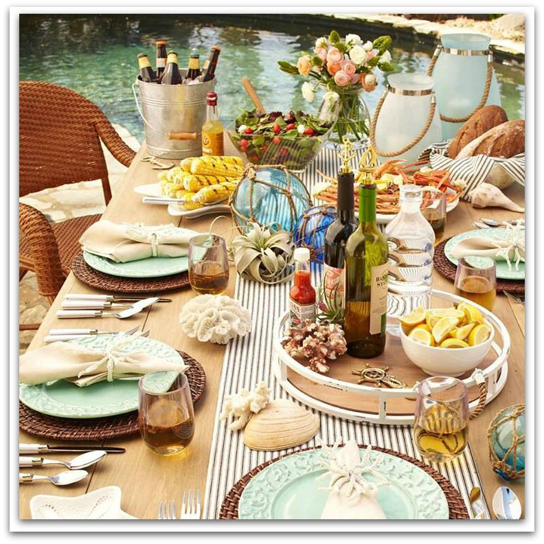 A casual elegance for outdoor entertaining