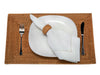 Laguna Rectangular Rattan Placemat Set of 2