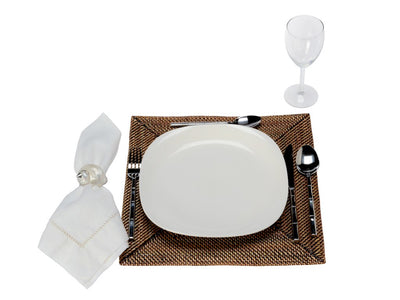 Carmel Square Nito Placemat, Set of 2
