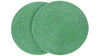 La Jolla Round Placemat, Green Wash