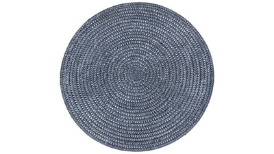 La Jolla Round Placemat, Blue Wash