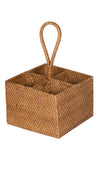 Loma Rattan Bottle Caddy