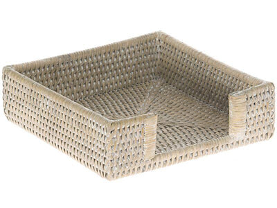 La Jolla Rattan Luncheon Paper Napkin Holder