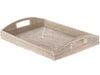La Jolla Rectangular Rattan Serving Tray