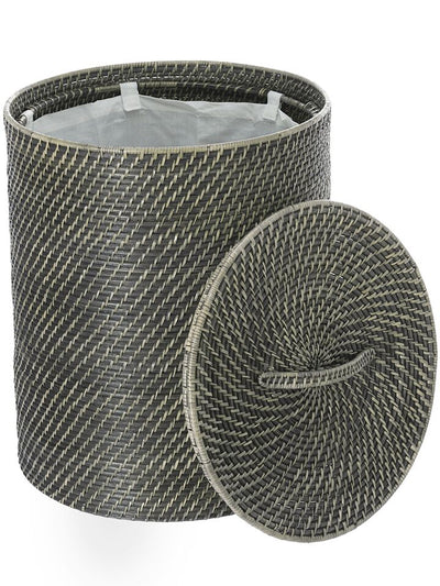 Laguna Round Rattan Hamper with Liner