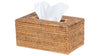 La Jolla Rattan Rectangular Tissue Box Cover
