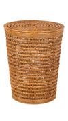 Cambria Rattan Laundry Mesh Hamper with Liner