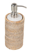 La Jolla Rattan Liquid Soap Dispenser