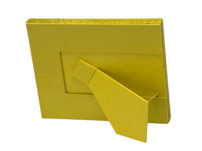 Pandan Picture Frame, Goldfinch Yellow