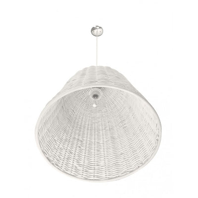 Wicker Bell Pendant Lamp