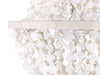 Clamrose Seashell Mini Manor Chandelier, White