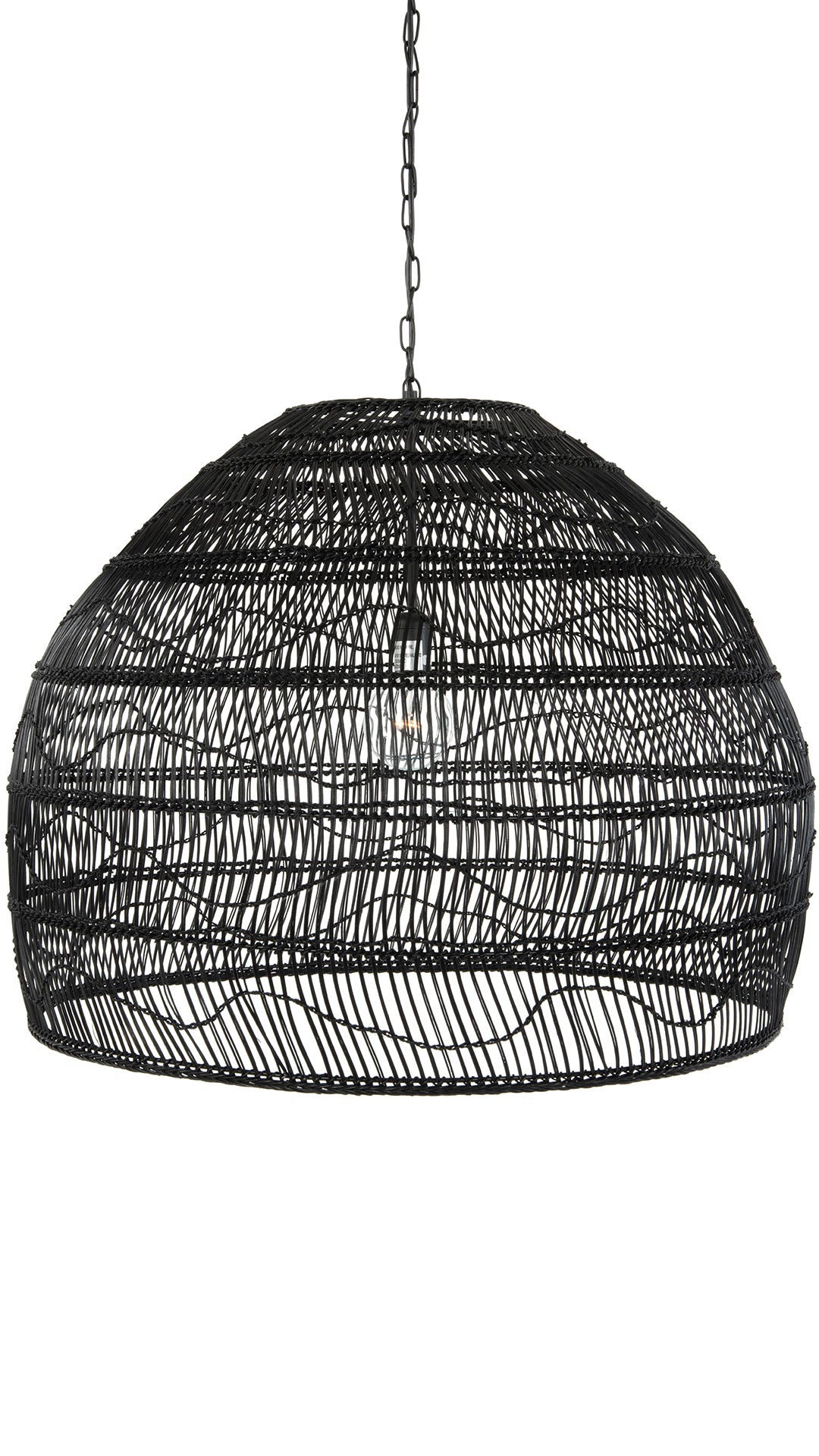 Contemporary Pendant Lights Wicker Hanging Lamps