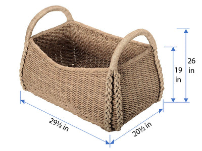 Oversized Seagrass Basket