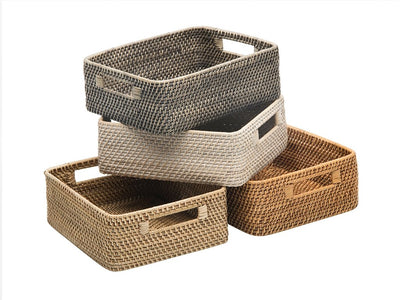 Laguna Rattan Shelf & Organizing Basket
