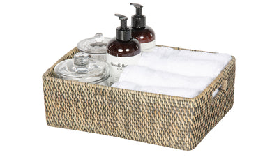 Loma Rattan Shelf & Organizing Basket