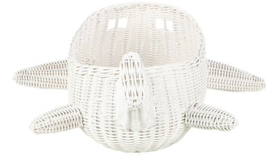 Wicker Airplane Basket