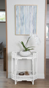 Rattan Manhattan 2-Tier Console Table
