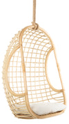Grid Rattan Hanging Chair, Natural