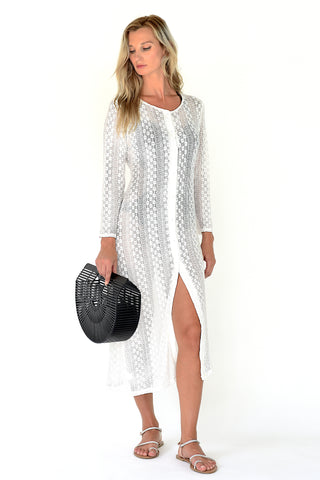 Estelle Cover Up Tunic - Blue