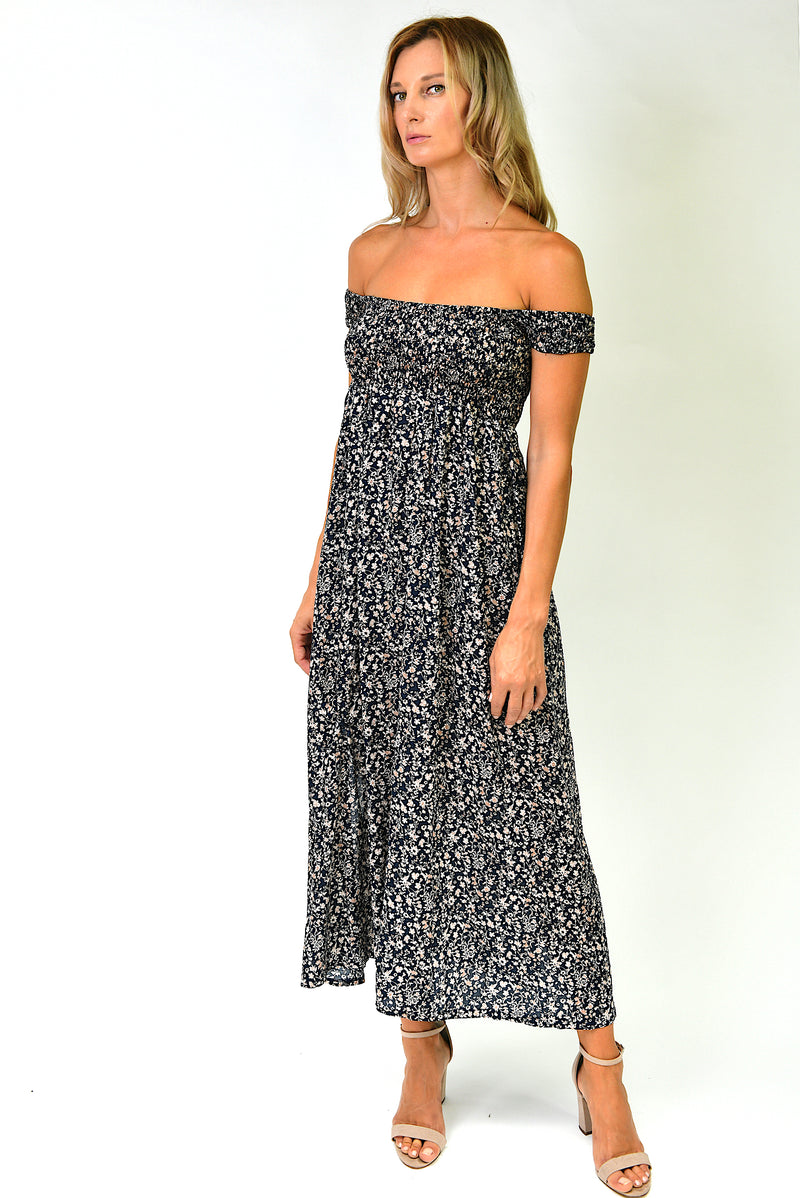 Leyla Maxi Dress - Black