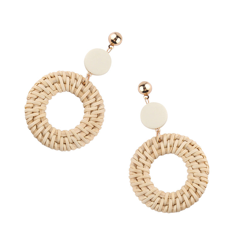 Round About Bamboo Earrings