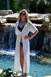 Estelle Cover Up Tunic - White