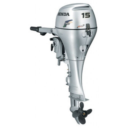 Honda BF15 Extra Long Leg Remote Control Power Tilt Outboard