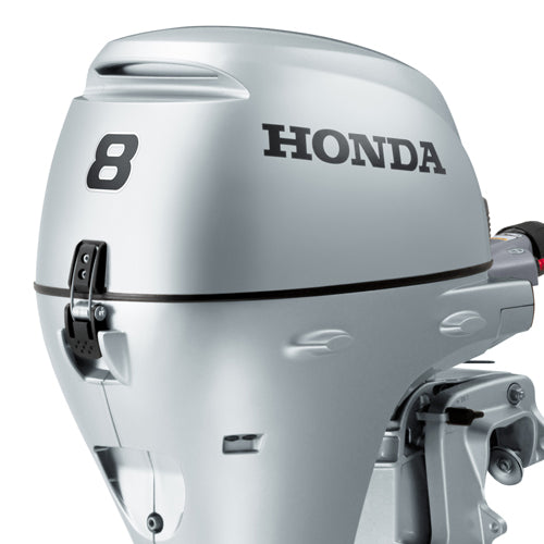 Honda BF8 Long Leg Electric Start Remote Control Outboard