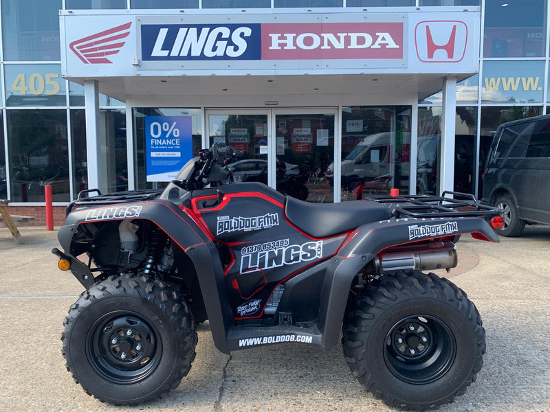 2019 Ex-Demo Honda TRX420 FA2 - Fourtrax DCT PS 2-4wd Power Steering ATV