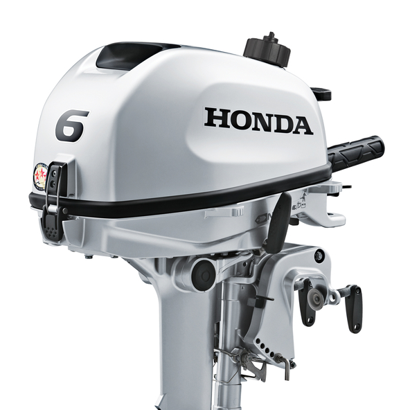 Honda BF6 Short Leg Outboard With 6 Amp Charge Coil