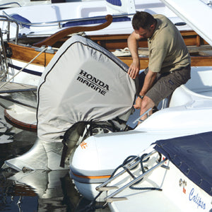 Honda Outboard Engine Cover