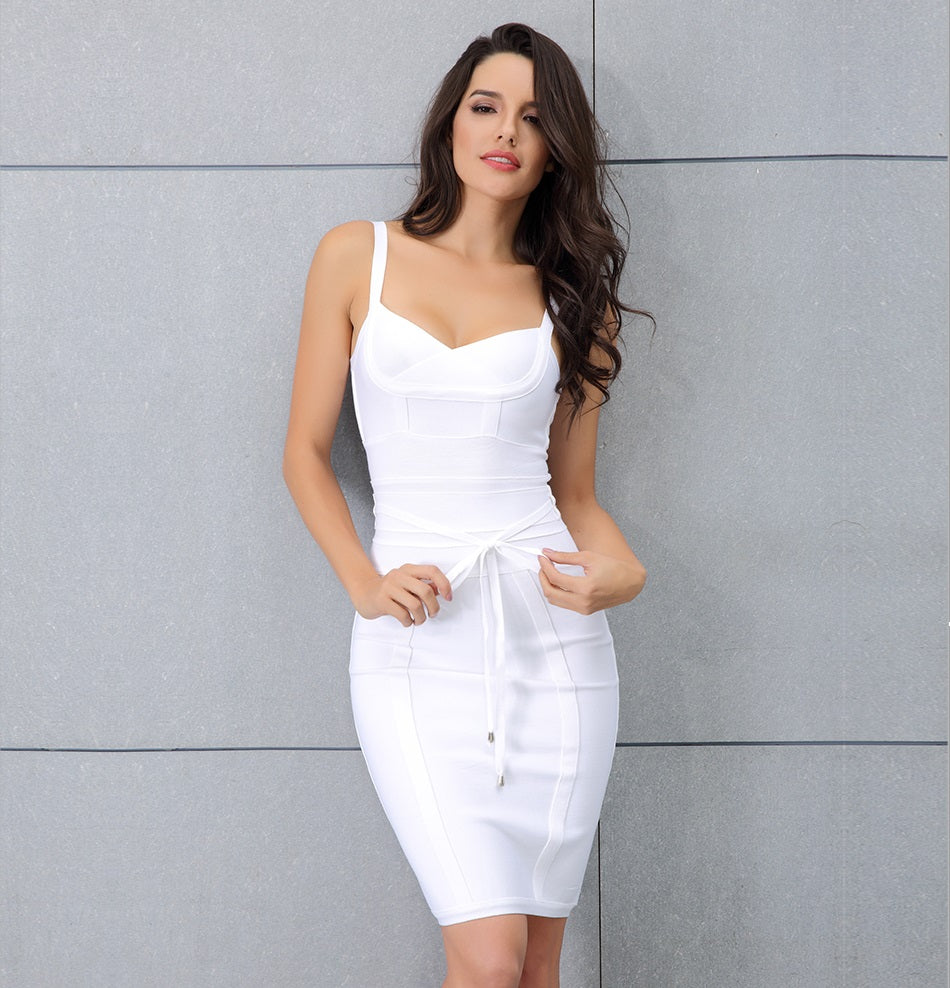 Bliss Dress White