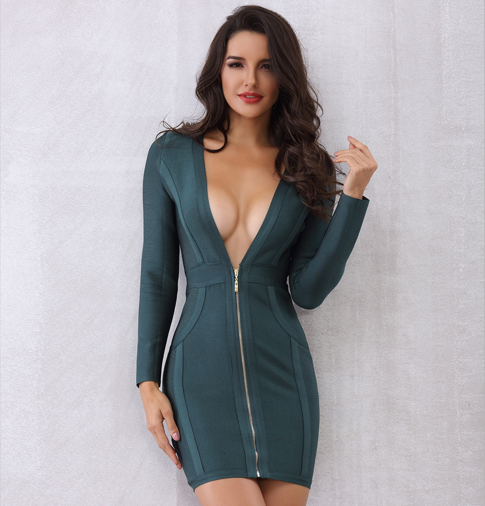 Dare Dress Green - Overnight Shipping