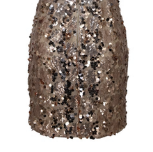 Diamond Sparkle Dress Gold