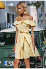 Elderflower Dress Yellow