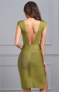 Empower Dress Olive Green