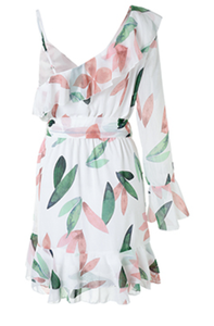 Evergreen Dress White