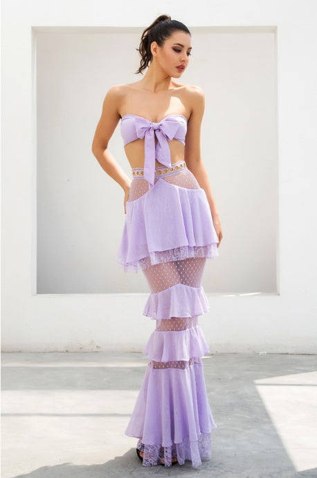 LUXE Louise Set Lilac