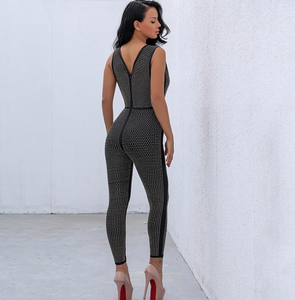 Jackie Jumpsuit - Overnight Shipping