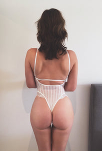 Forever And Always Bodysuit White