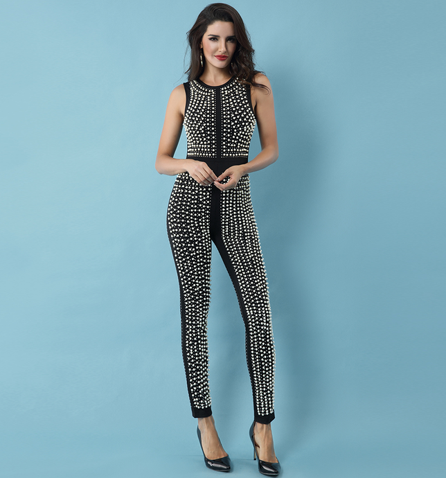 Zeyda Jumpsuit Black