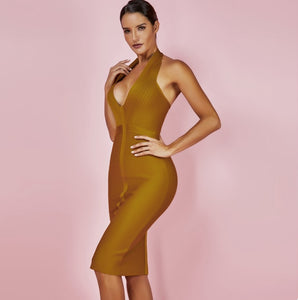 Take The Plunge Dress - 4 Colours